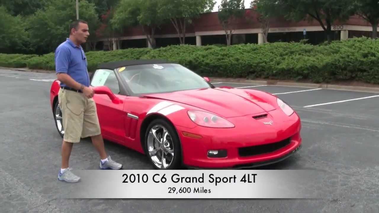 2010 Corvette Grand Sport 4lt Convertible Youtube