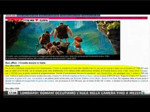 SKY TG 24   il box office di MYmovies.it   8 aprile 2013