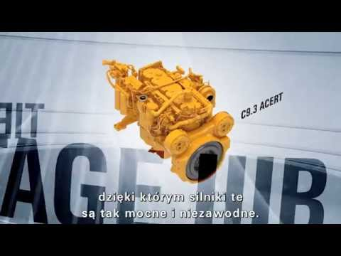 Cat K Series, Tier 4 Interim/Stage IIIB Engines (POLISH)