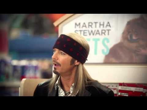 Bret Michaels and Martha Stewart PetSmart Holiday Ad [Teaser]