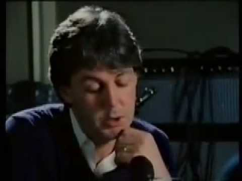 Paul McCartney cries after John Lennon s death