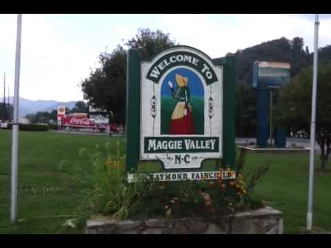 Asheville Moving Company Loves Maggie Valley, NC  proudly flies the American Flag in WNC