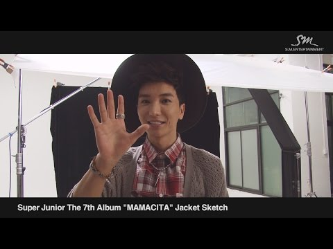 Super Junior The 7th Album 'MAMACITA' Music Video Event!! - Photoshoot Making Film