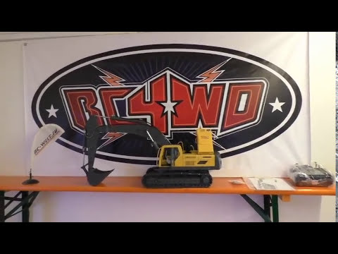 Unboxing RC4WD 1/14 Scale Earth Digger 360L Hydraulik Bagger (RTR) VV-JD00016