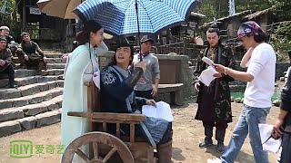 [BTS] Zhao Li Ying & William Chan - Sharing an Umbrella