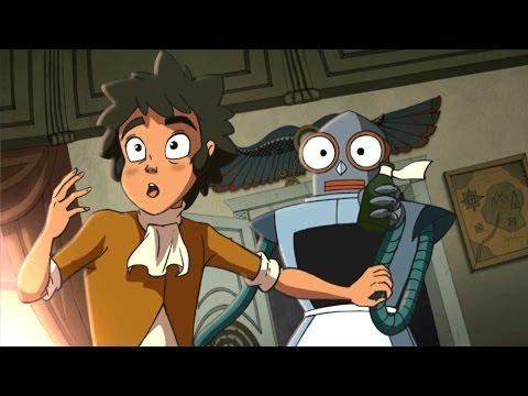 Познавательный мультфильм - Тайна Сухаревой башни - Время назад (7 серия)