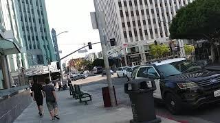 News 2  LAPD police, training against terrorism. LAPD 올림픽 경찰서 팀들이, 범죄와 테러예방 및 신고를 계몽하기 위해 15일 일요일 코리