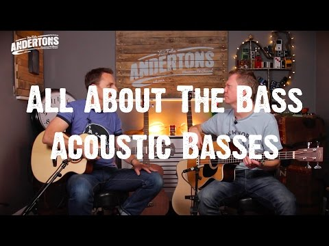 All About the Bass - Lets look at some Acoustic Basses
