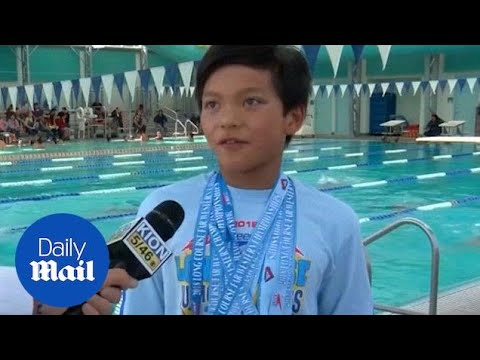 10-year-old swimmer breaks Phelps' 100 meter butterfly record - Daily Mail