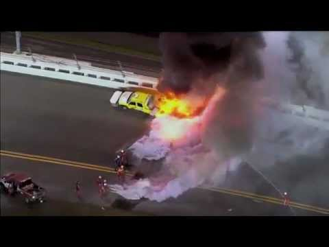 Nascar Crashes 2012 Nascar Daytona 500 2012