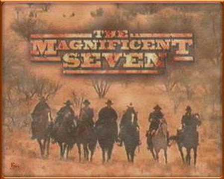 The Magnificent Seven is listed (or ranked) 28 on the list The Greatest Movie Themes