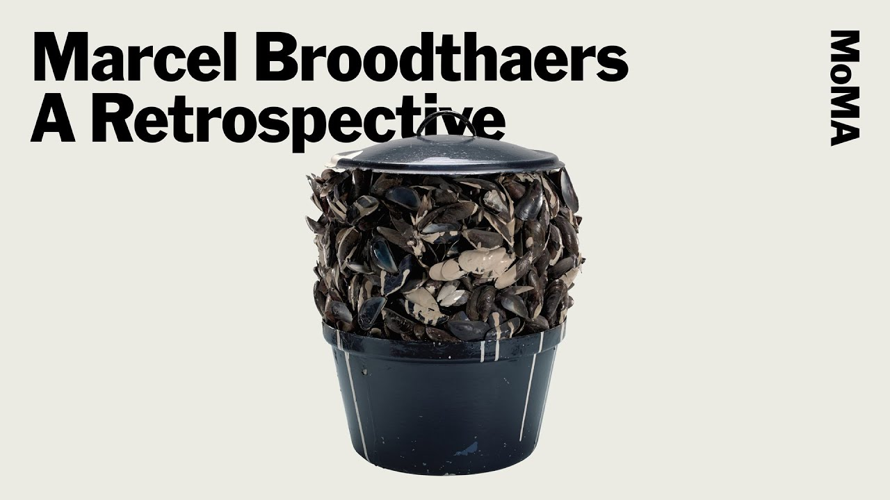 Marcel Broodthaers: A Retrospective | Press Remarks