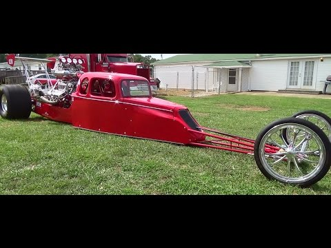 Dragster Triple Blown 468 Big Block