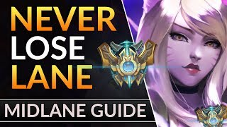 Tricks Pros ABUSE for TOTAL LANE CONTROL: Challenger Mid Tips | LoL Midlane Guide