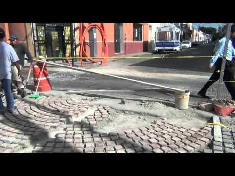 No terminan obra en calle Guadalupe Celaya