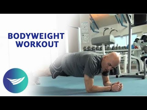 Body Weight Resistance Workout Image 1