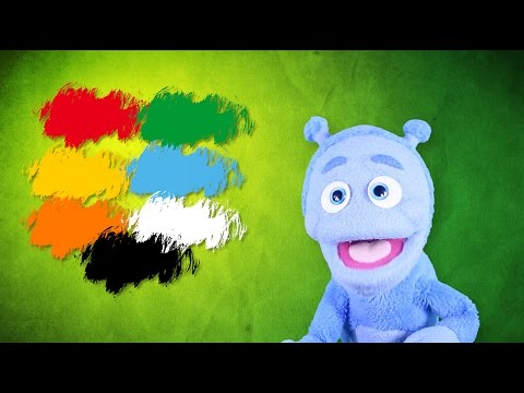 Nauka Kolorów Dla Dzieci  - Bajka Po Polsku - Ubu Poznaje świat