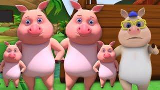 con heo nhỏ này | vần điệu cho trẻ em | trẻ em bài hát | Little Treehouse | This Little Piggy