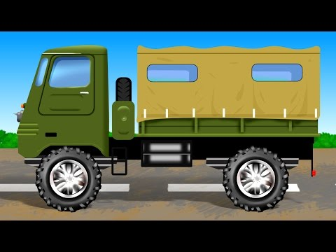 Army Truck | Formations | Army Vehicles | Children Videos