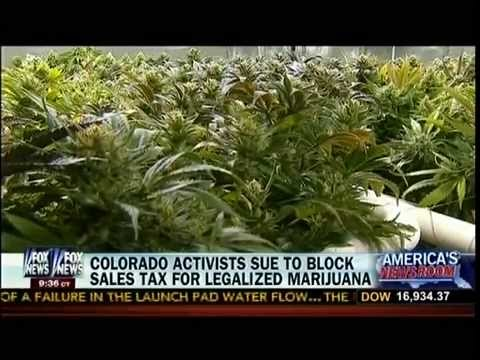 Colorado Activists Sue To Block Sales Tax For Legalized Marijuana - America's Newsroom