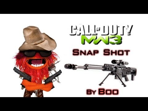 AS50 Sniper Gameplay | Snap Shot - Modern Warfare 3