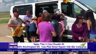 PHÓNG SỰ CỘNG ĐỒNG: Ngày thứ 2 trong hành trình đi đến Washington DC của phái đoàn Bắc Cali