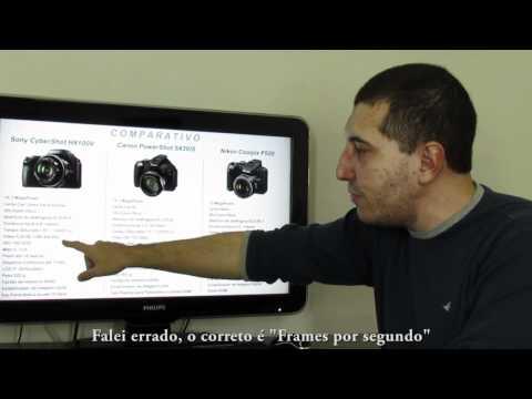 #ResterTECH S02E04 - Comparativo Canon SX30 / Sony HX100 / Nikon P500