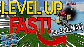 HOW TO LEVEL UP FAST IN BLOX PIECE!? | BLOX PIECE | ROBLOX | NEW ONE PIECE GAME!