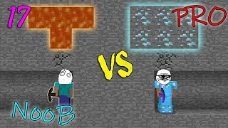 NOOB VS PRO -  MINECRAFT 17