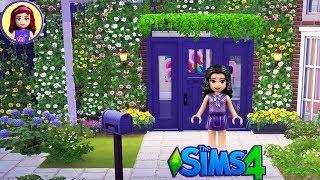 Let's Build Lego Friends Emma an Artist's Cottage | Sims 4 House Build