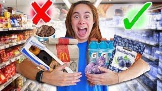 I Only Ate Foods That Are Blue For 24 Hours!