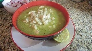 Pozole Verde de Pollo/ Green Chicken Pozole
