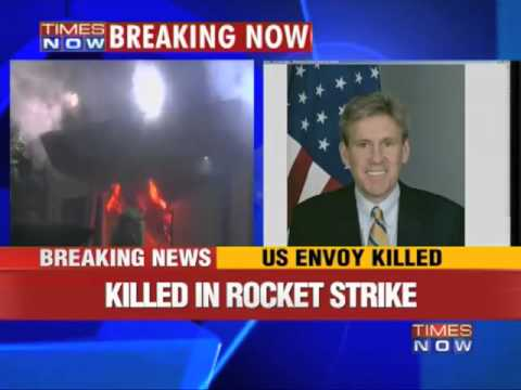 US ambassador to Libya Christopher Stevens killed in attack
