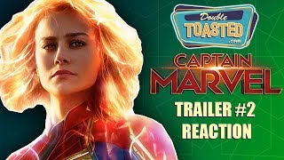 MARVEL'S CAPTAIN MARVEL TRAILER 2 REACTION - TOO SIMILAR TO THE FIRST TRAILER?