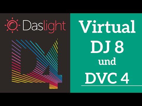 Wie verbinde ich Virtual DJ 8 und Daslight DVC 4 über BPM? | Daslight 4 DVC4 Videotutorial