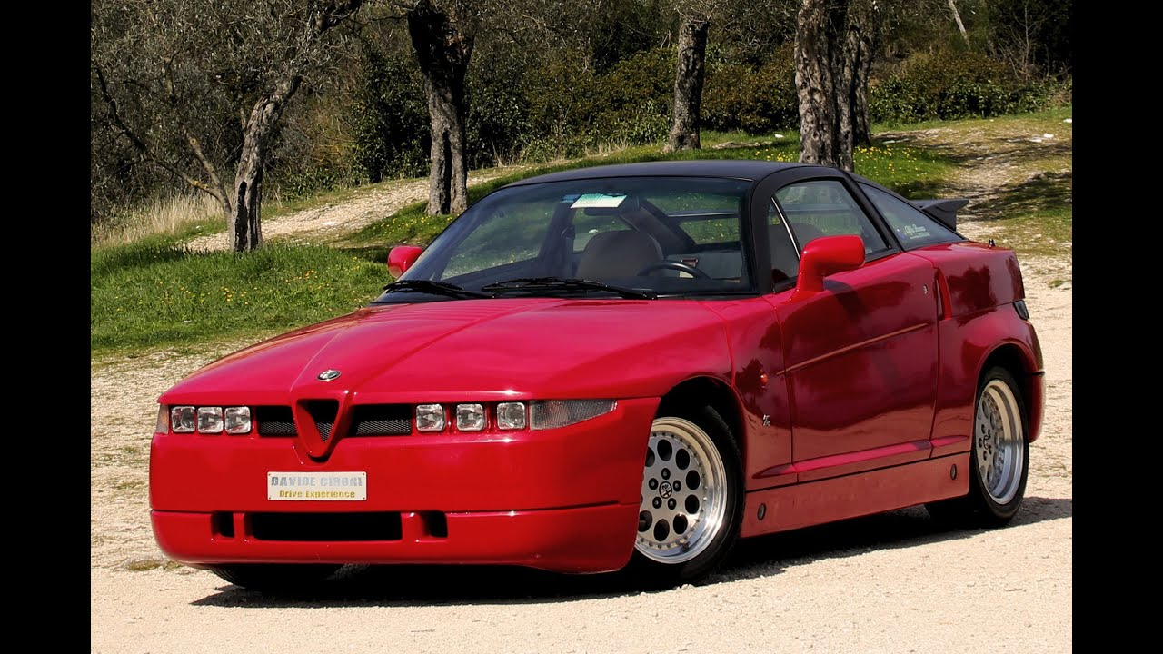 Alfa Romeo Sz Davide Cironi Drive Experience Youtube