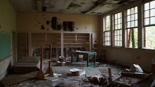 Abandoned school lost in the woods of eastern NC