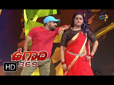 Roja, Shekar Master | Ammadu Lets Do Kummudu Dance  | Ugadi 369 | 29th March 2017 | ETV Telugu thumbnail