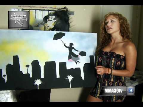 MMA:30 Exclusive: Brittney Palmer Shows Off Her Work