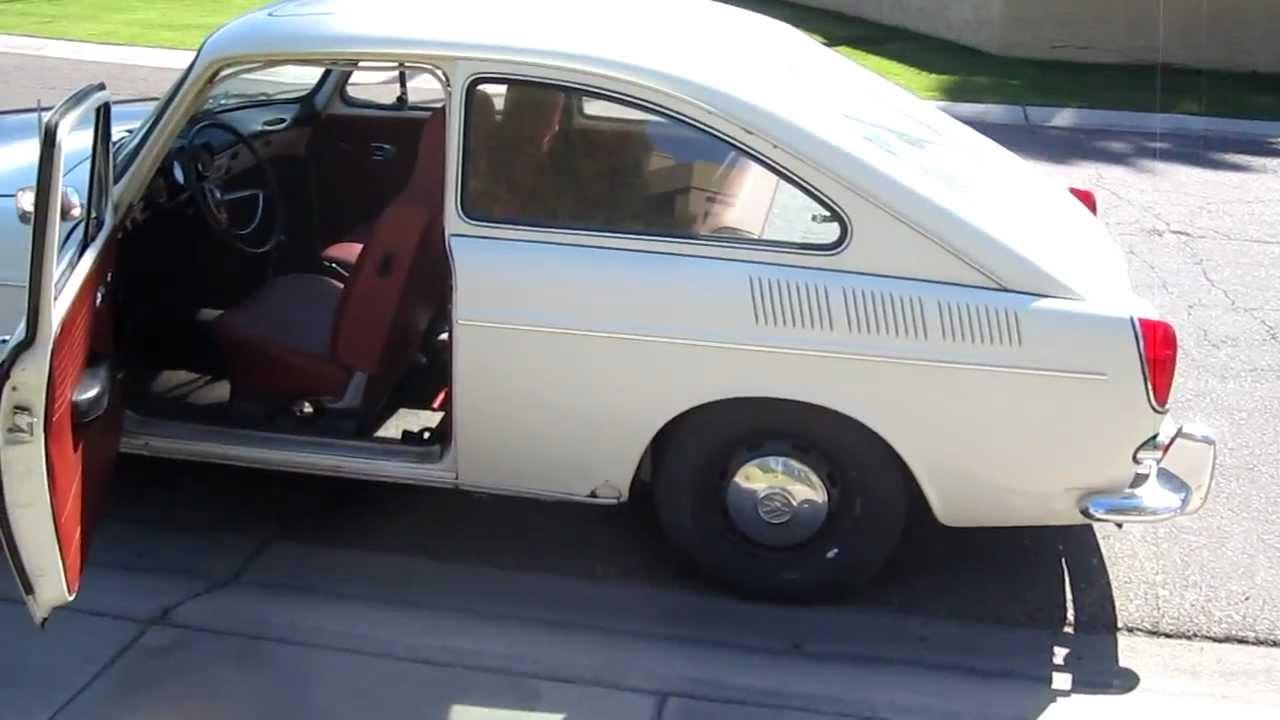 1968 Volkswagen Type 3 Fastback Youtube