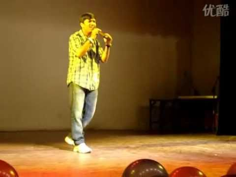 vinay mohan performing hindi song abhijeet sawants mohabbatein...
