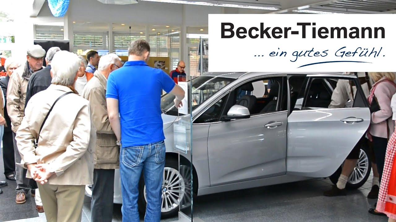 oktoberfest premiere des bmw 2er active tourer autohaus becker tiemann bielefeld youtube