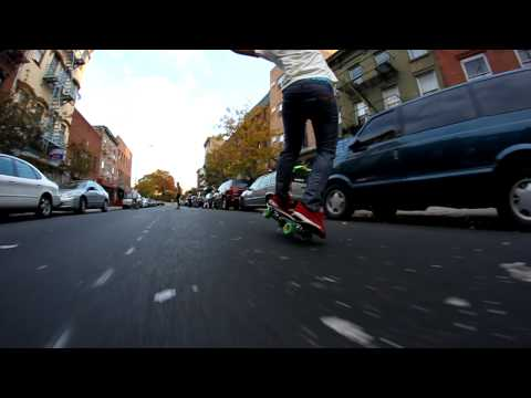 Get Die Rider James Soladay Bustin The Block with a One Wheel Manual