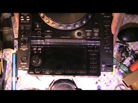 Замена кнопок CUE/Play на Pioneer CDJ-2000 Nexus