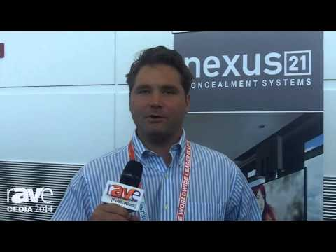 CEDIA 2014: Nexus 21 Concealment Systems Exhibits TV and Projector Lifts
