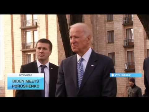 Biden Meets Poroshenko: US Vice President arrives in Ukraine for a two-day visit