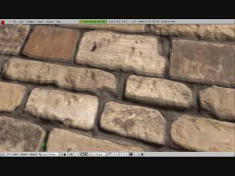 Blender GLSL - Parallax Mapping Effect w/ Material Nodes