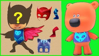 PJ Masks Puzzles ⚡ Pj Masks Catboy, Owlette ⚡ Be-Be-bears Educational cartoons