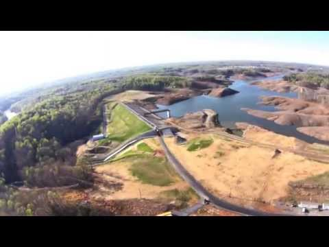 Rocky Pen Run Reservoir on April 17, 2014. Watch in HD!