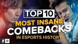 The Top 10 Impossible Comebacks in Esports History